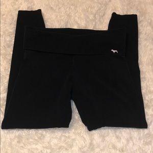 Victoria's Secret Foldover Cotton Legging SZ S